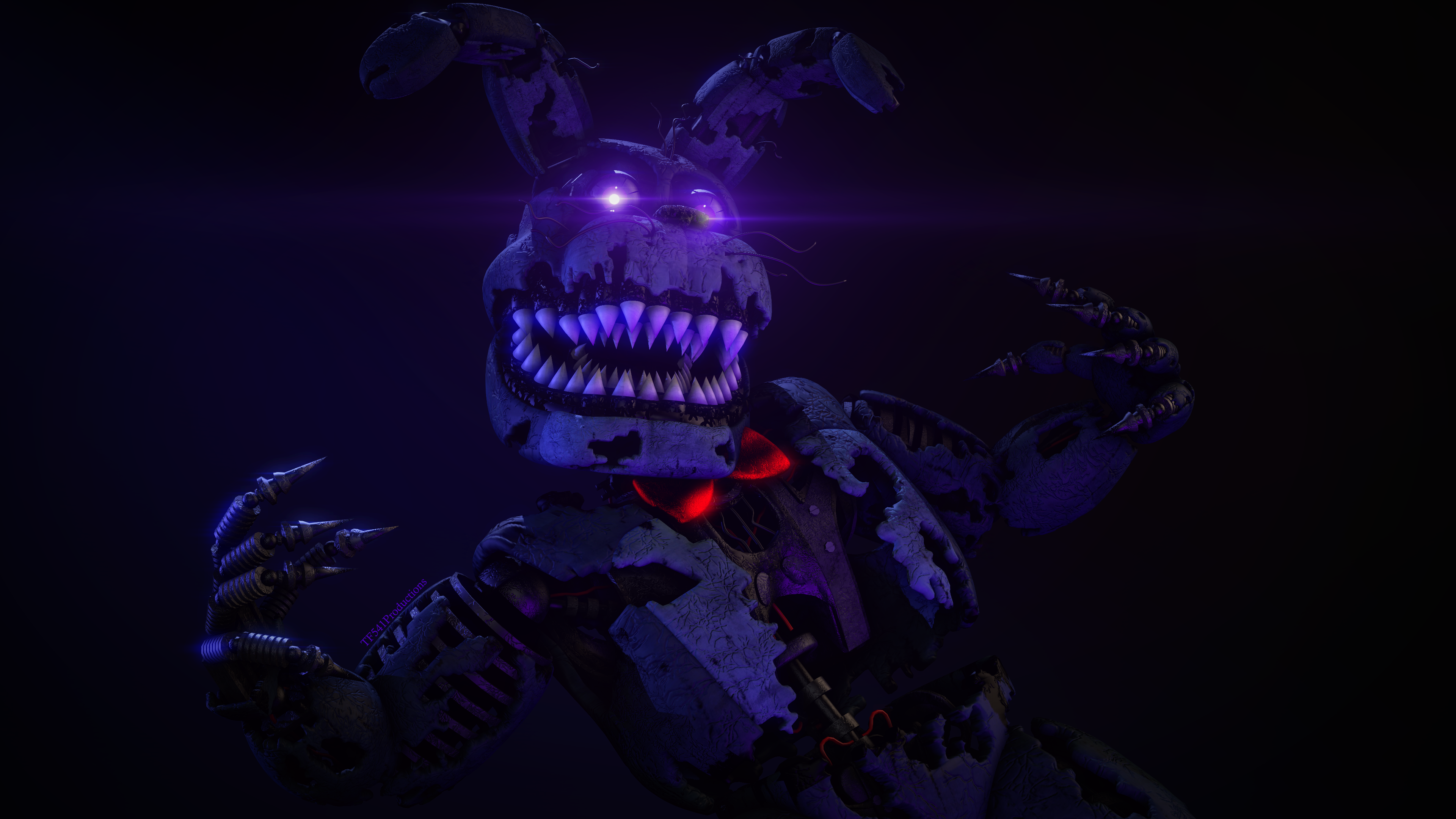 Workshop Posters: Nightmare Bonnie by TF541Productions