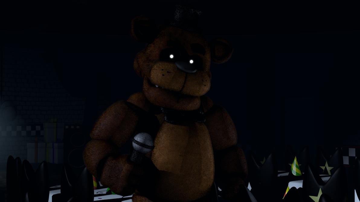 Freddy Fur-bear by TF541Productions