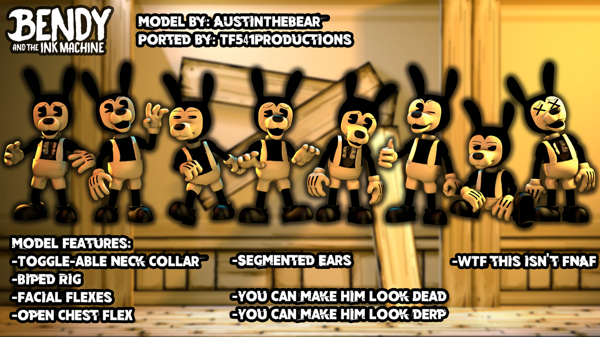 Bendy and The Ink Machine - Boris Showcase by TF541Productions