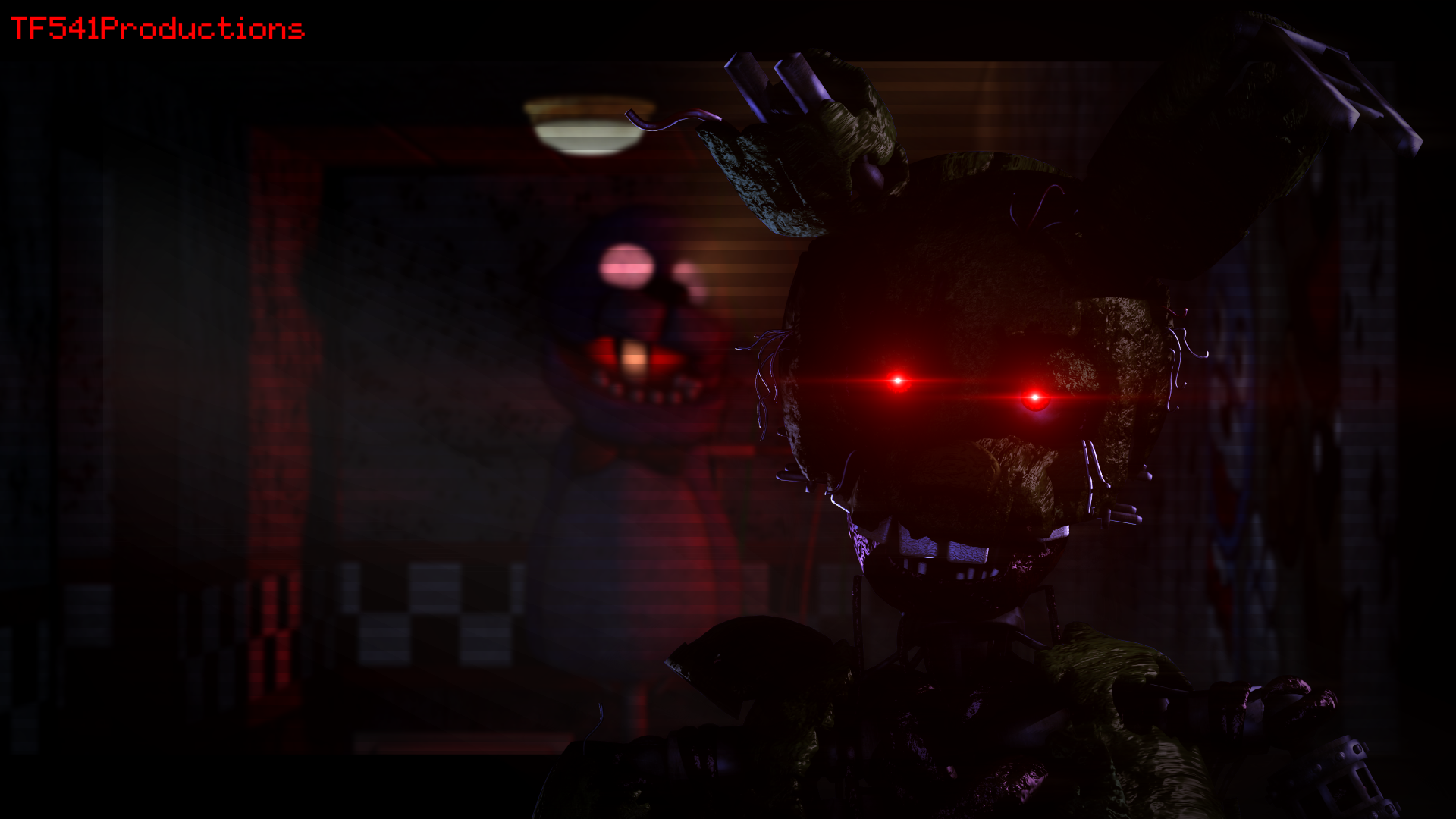 Ignited Springtrap Wallpaper by TF541Productions