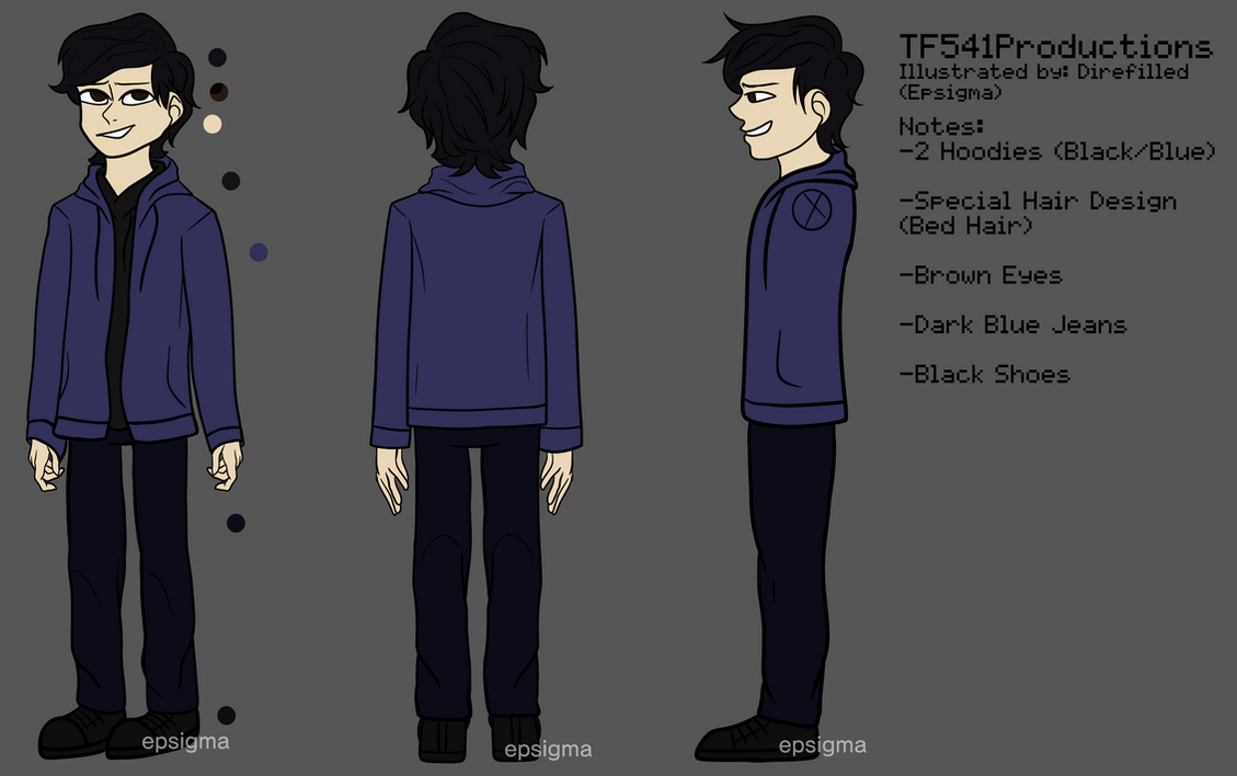 TF541Productions Reference Sheet by TF541Productions