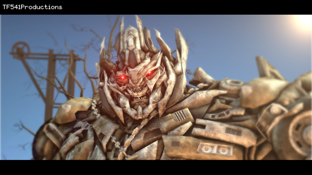 Megatron (Dark of The Moon) by TF541Productions
