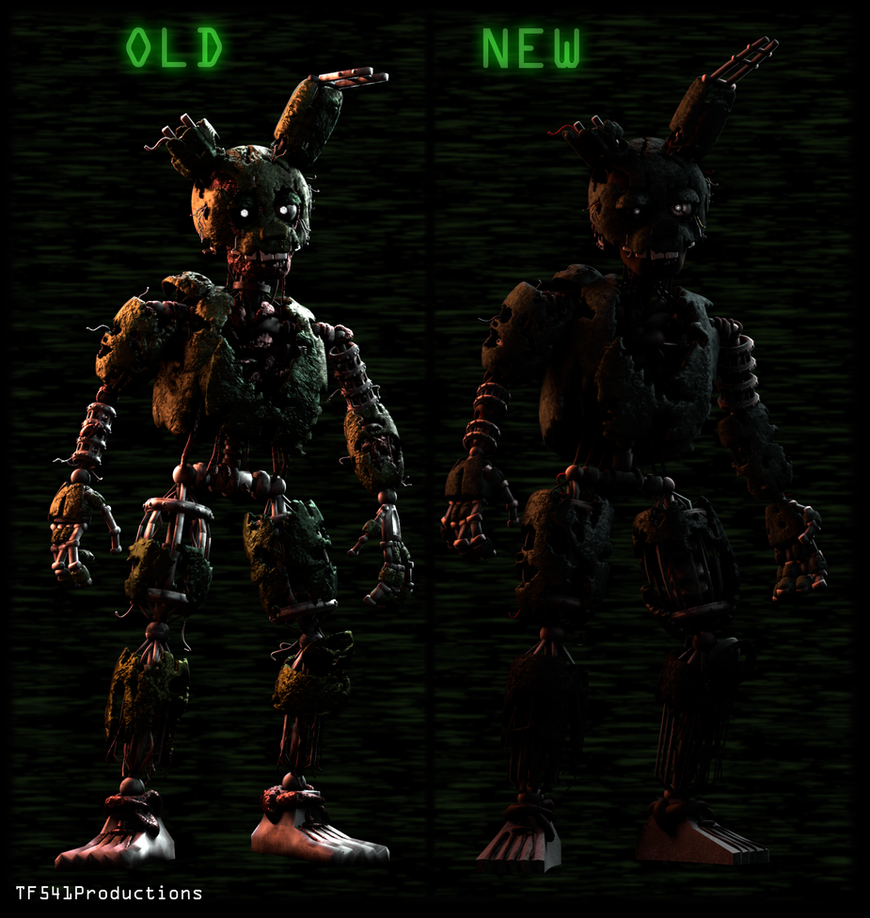 OLHS - Springtrap Revamp by TF541Productions