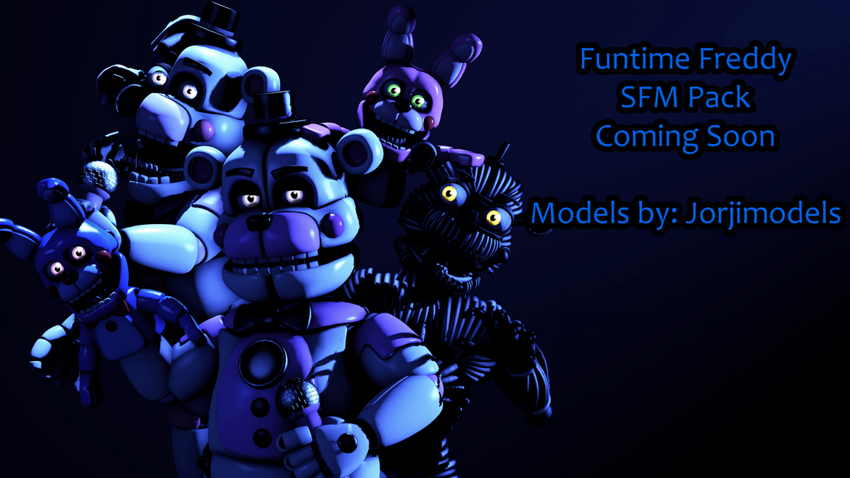 Model Showcase: Funtime Freddy Pack by TF541Productions