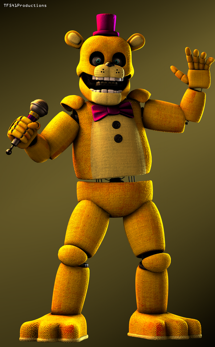 Fredbear Test 1 by TF541Productions