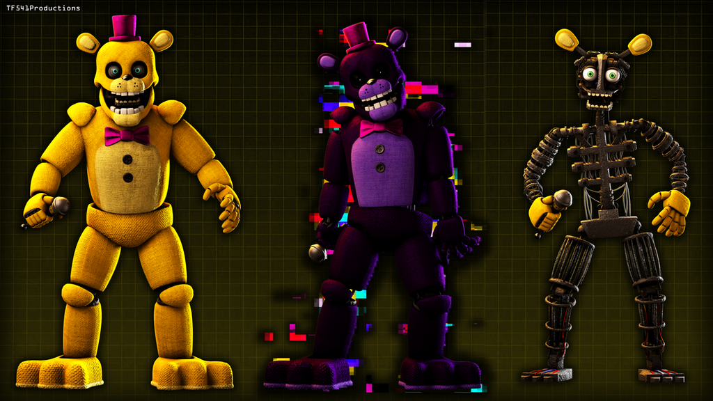 Fredbear WIP2 by TF541Productions