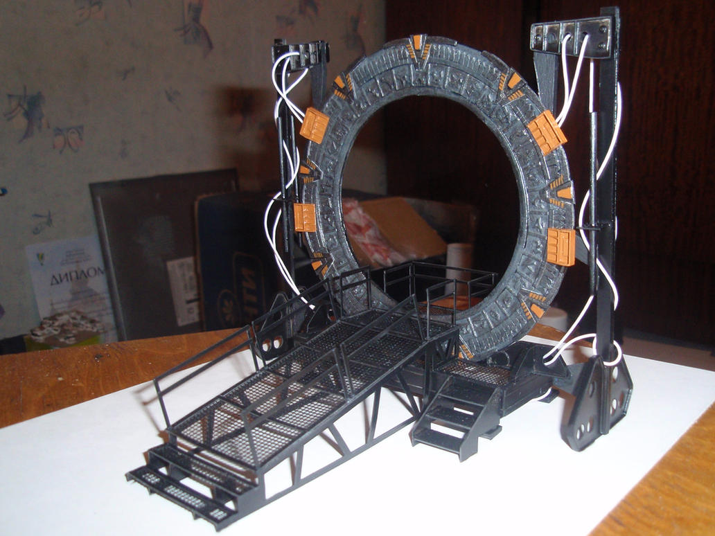 StarGate paper model 4 by BHAAD