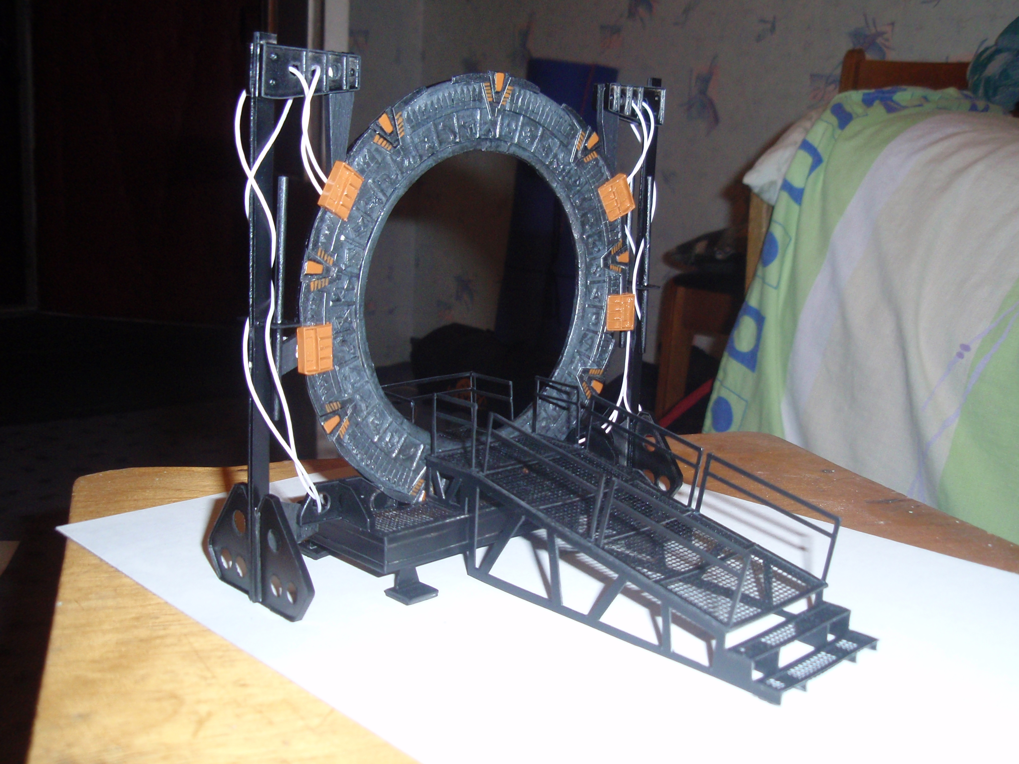 StarGate paper model 7 by BHAAD