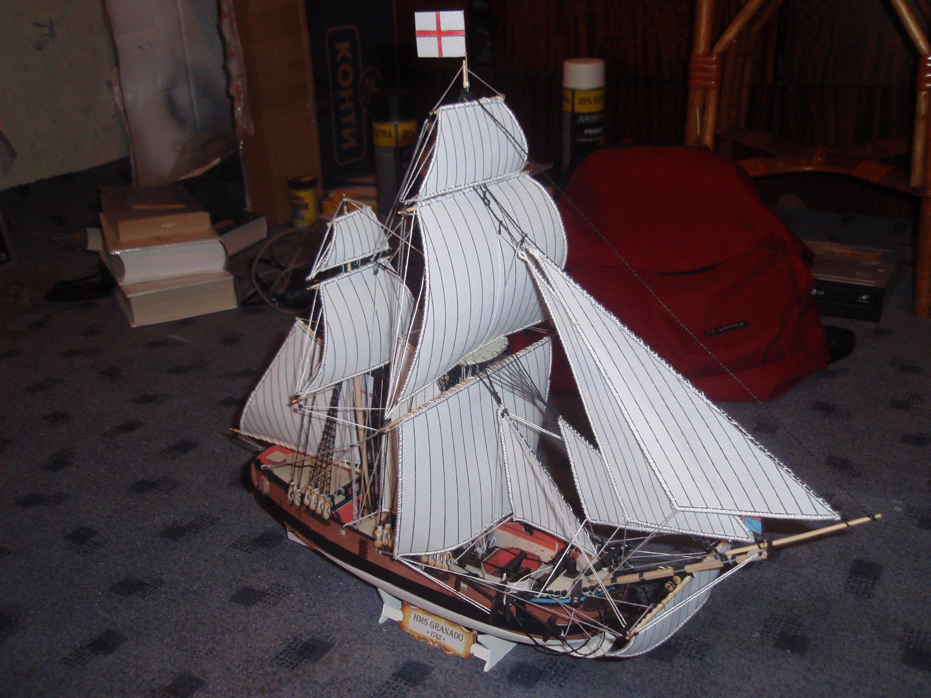 HMS Granado 7 by BHAAD