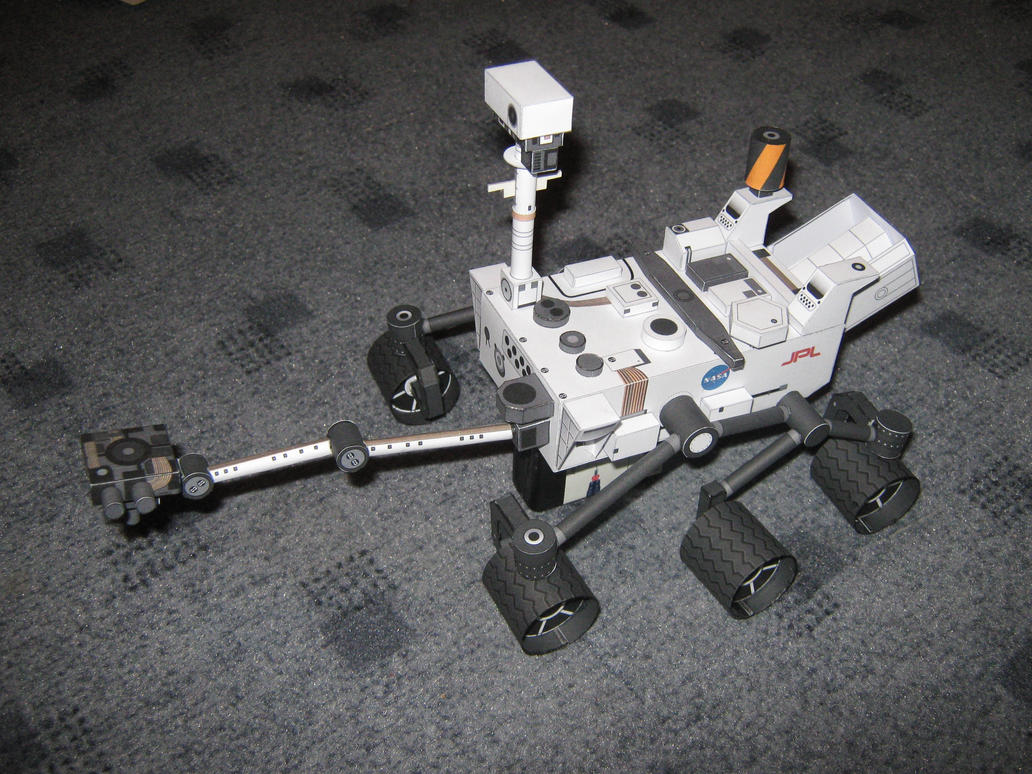 mars rover papercraft - photo #11