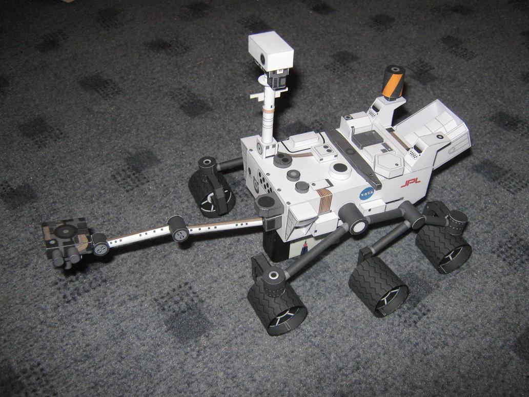 mars rover papercraft - photo #11