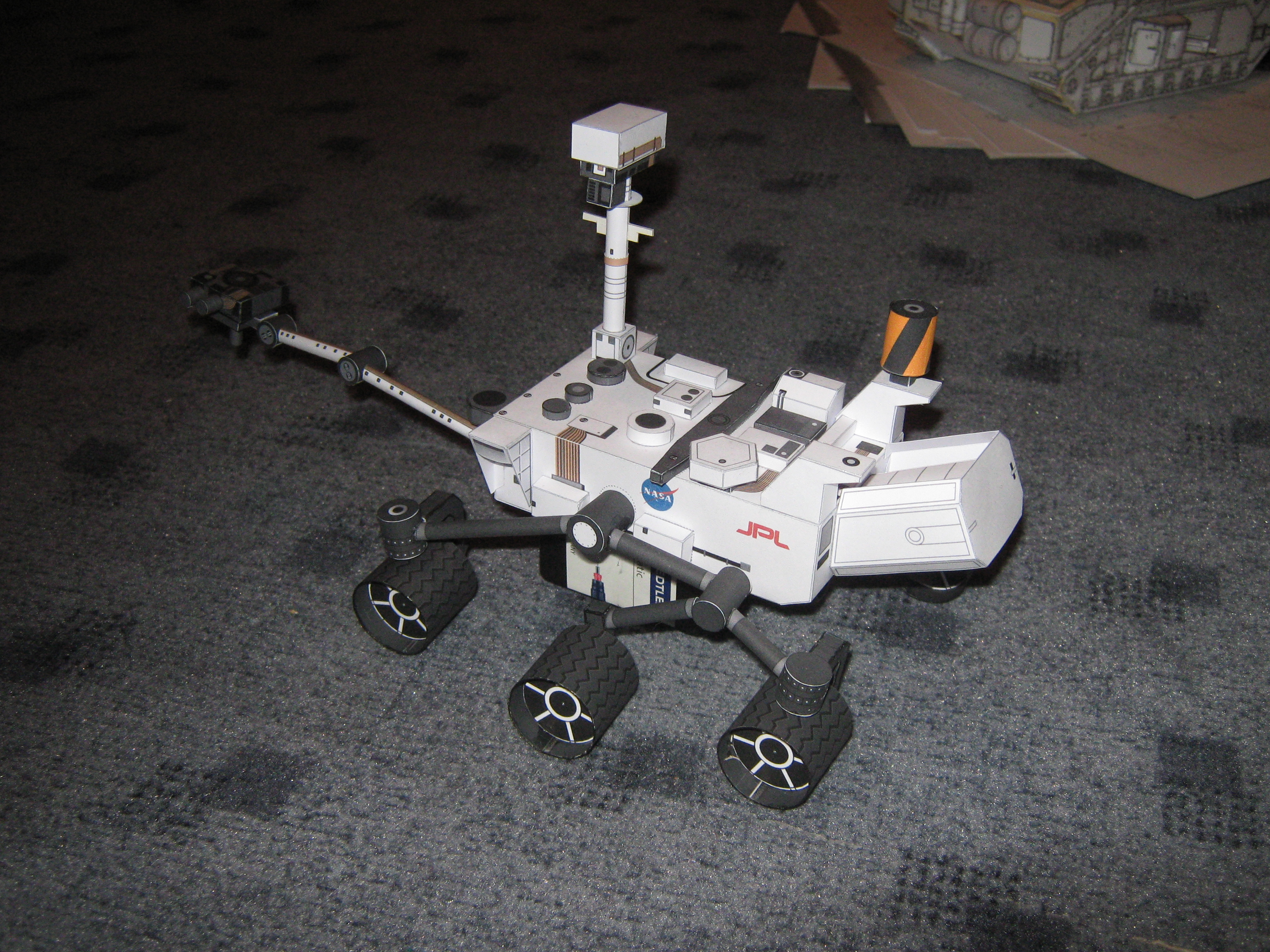 mars rover papercraft - photo #15