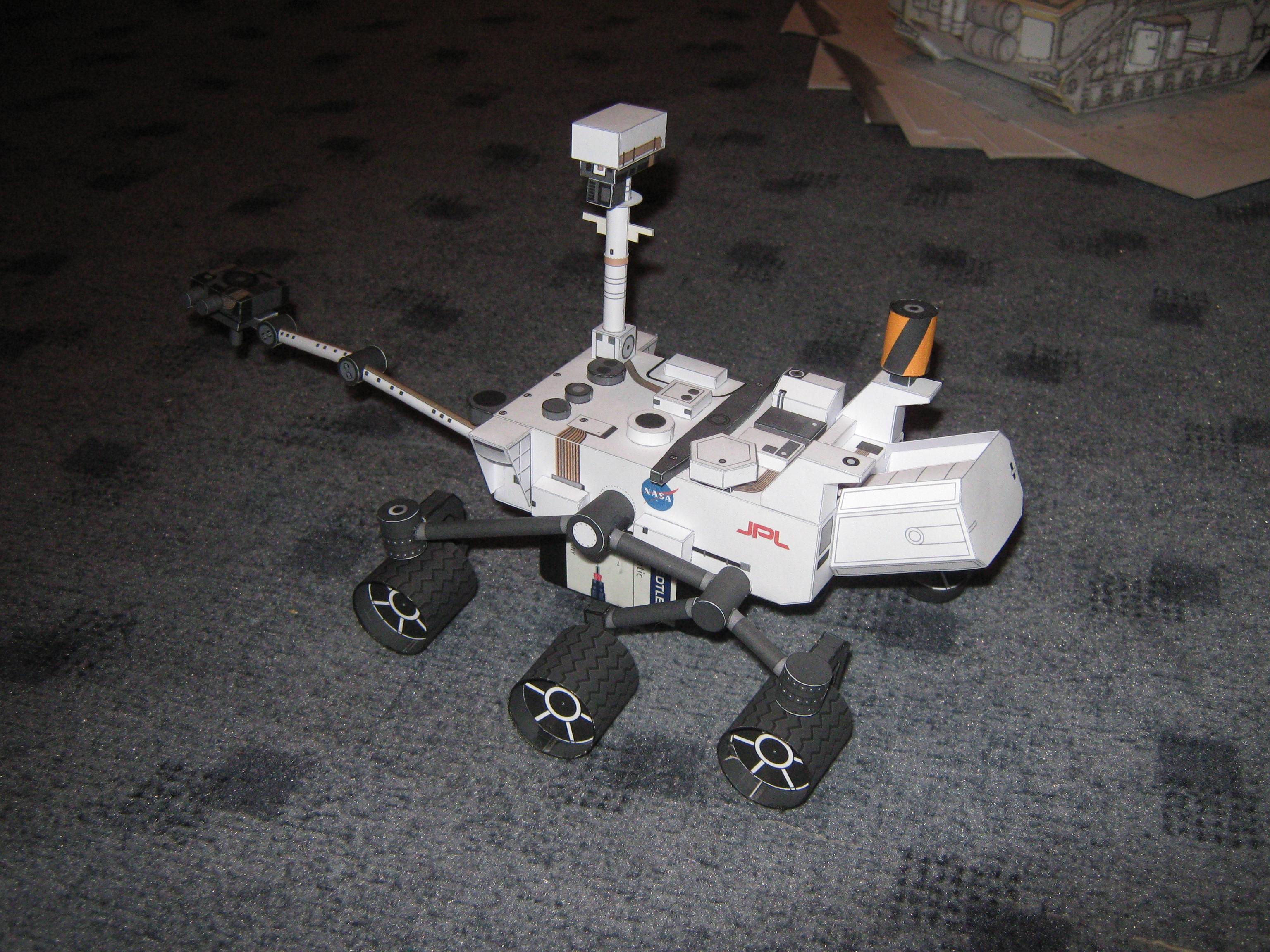 mars rover papercraft - photo #15