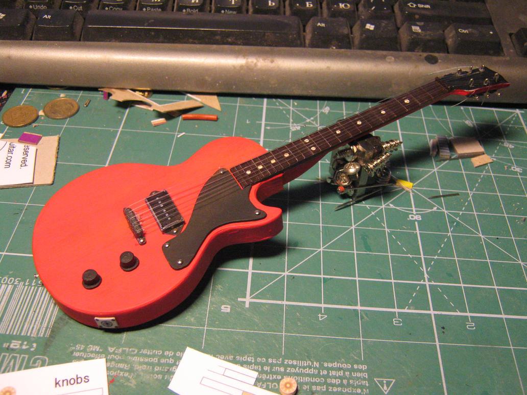 Gibson Les Paul jr by BHAAD