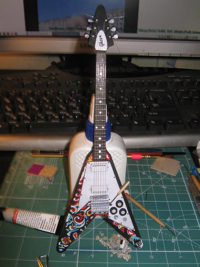 Jimi Hendrix's Gibson Flying V by BHAAD