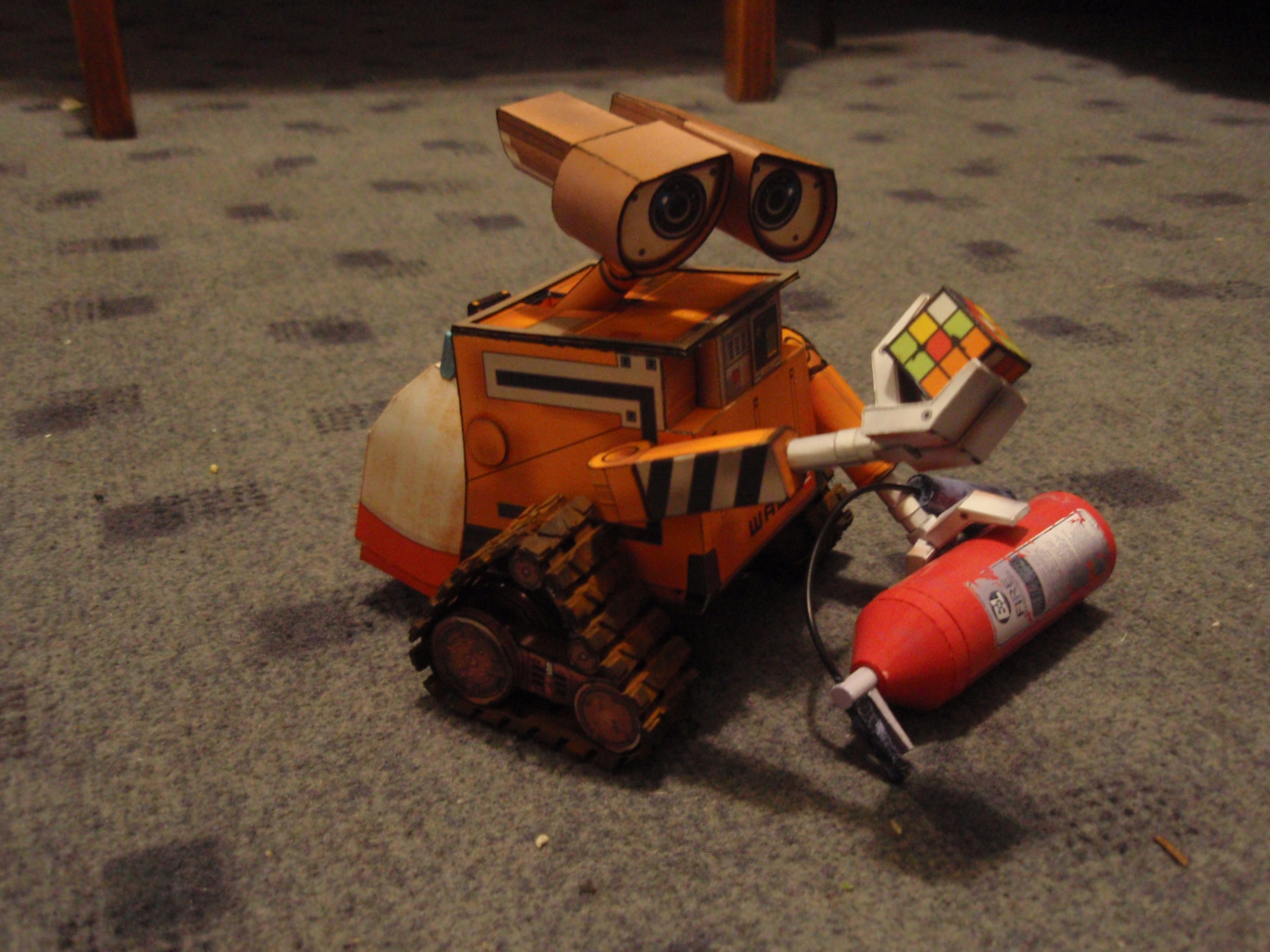 Wall-e paper model by BHAAD