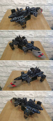 Cobra-class destroyer Warhammer 40k papeecraft