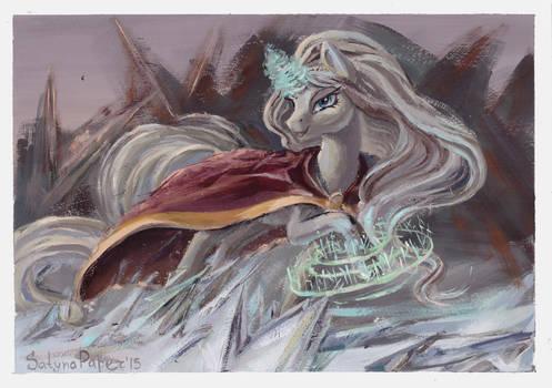 Frost and magic. (Kiriban).