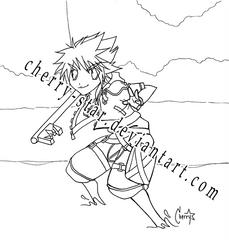 Sora - Spar with Me by cherry-star