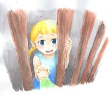 LOZ - I'm here,Aryll by Mitsuyuki32