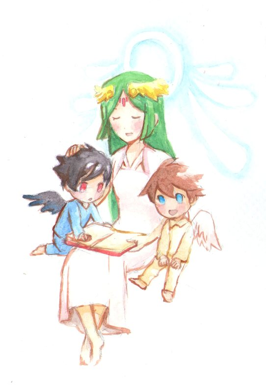 Kid Icarus - Our Mother, Our Goddess by Mitsuyuki32
