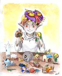 LoZ - Majora's game by Mitsuyuki32