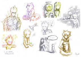 GotG doodle by Mitsuyuki32