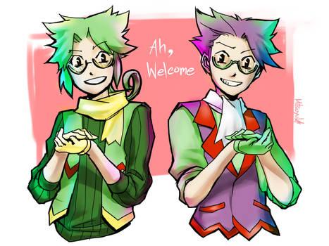 Pokemon gijinka - Kecleon Brothers