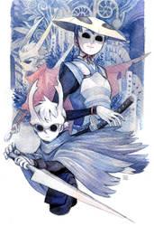 [gijinka] Hollow Knight