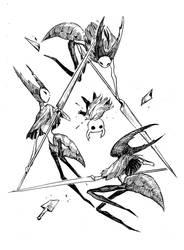 [HK] vs Mantis Lords by Mitsuyuki32