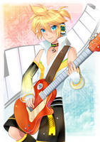 Rock the Guitar by TamashiineKasuka
