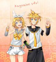 Kagamine V4x! by TamashiineKasuka