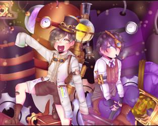 |Welcome the factory| Jyushimatsu and Ichimatsu by Rozzovy