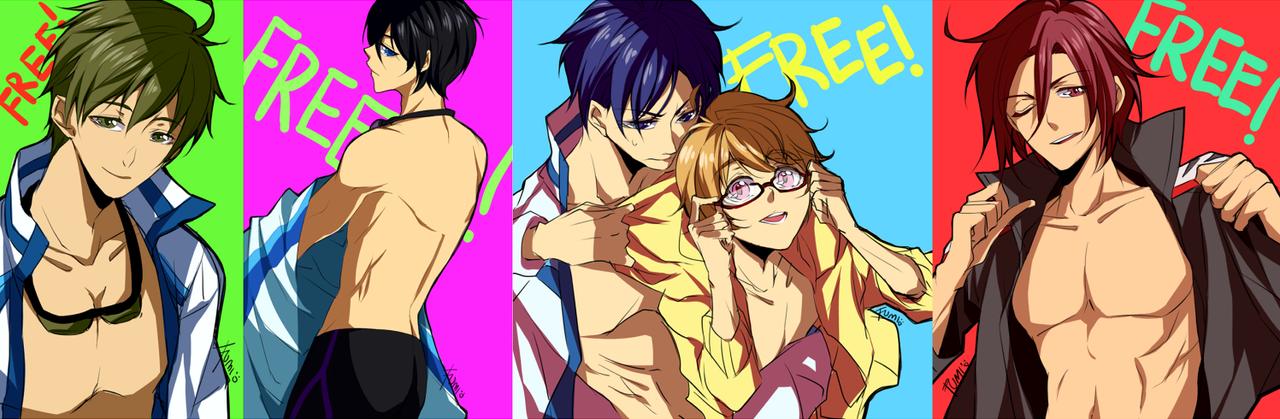 Free!: Boys Boys Boys by tofumi