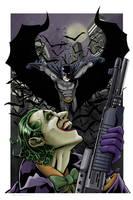Batman vs. The Joker by Kminor