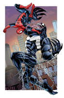Spider-Man vs. Venom by Kminor