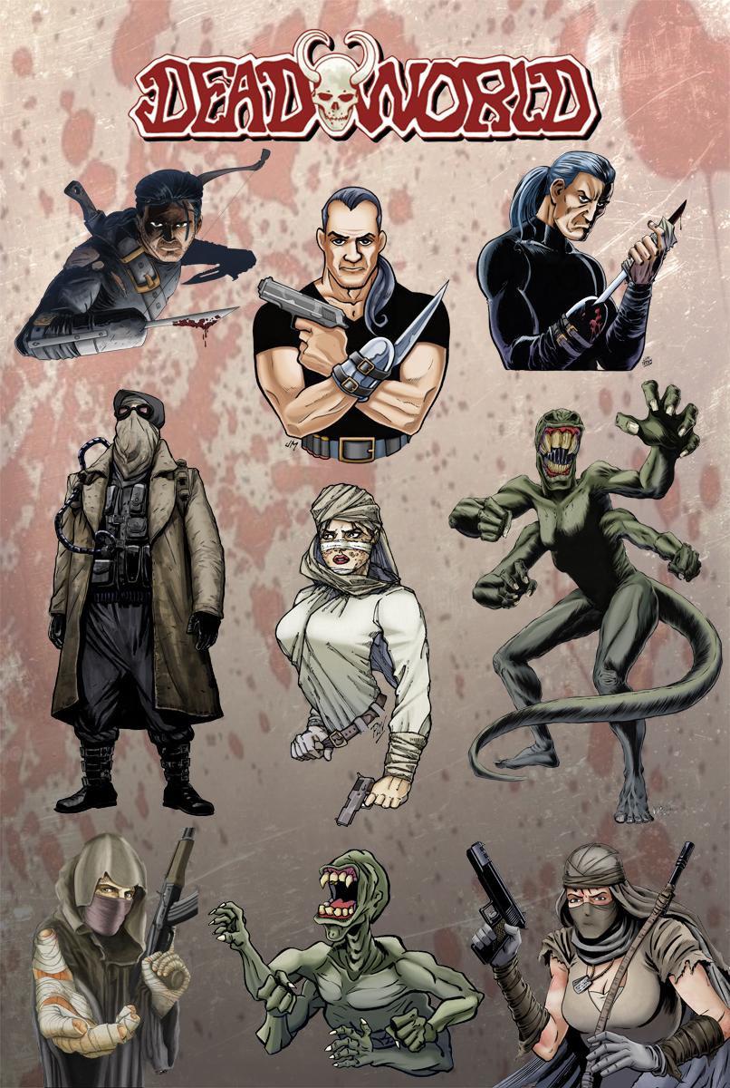 Deadworld Character Art by Kminor