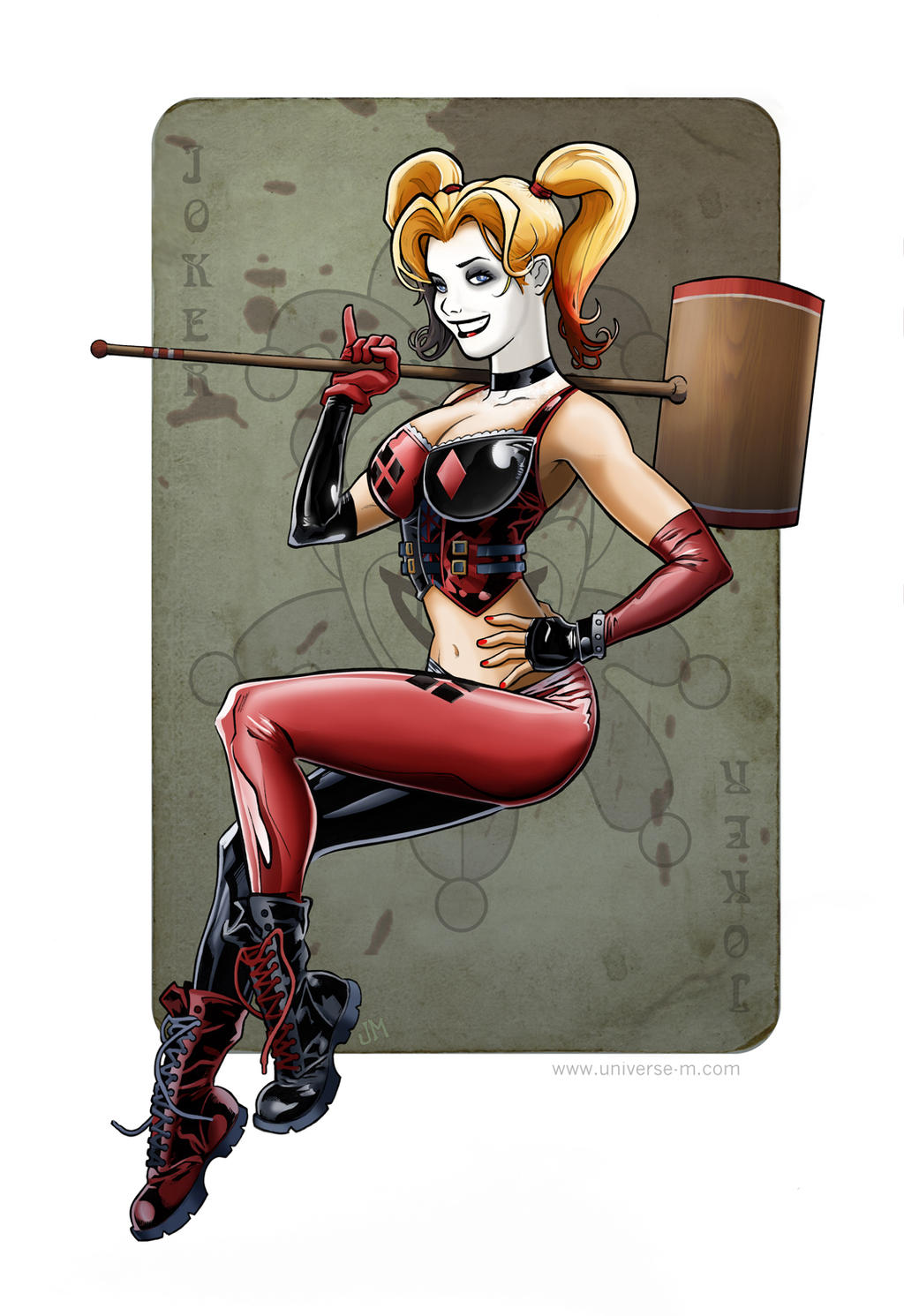 Harley Quinn by Kminor