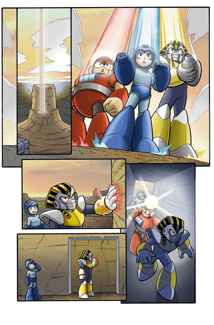 Mega Man Sample 1 by Kminor