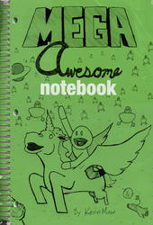 Mega Awesome Notebook Cover