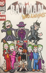 The Joker, Batman Who Laughs Sketch Cover