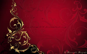 Gilded Crimson I by moonbeam1212