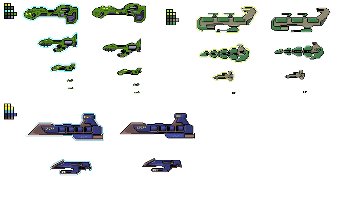 Missile Sprite Sheet: 20 Excellent Examples Of Game Sprite