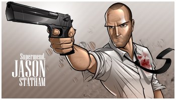 Jason Statham by Supermend