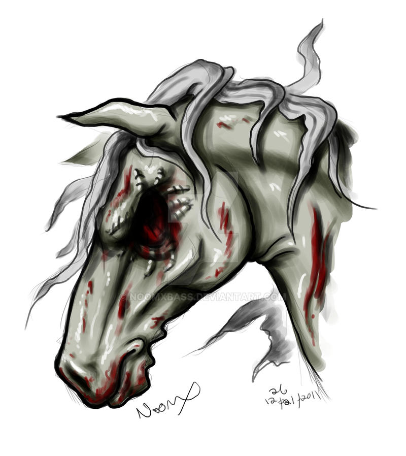 Zombie Horse by noomxb...