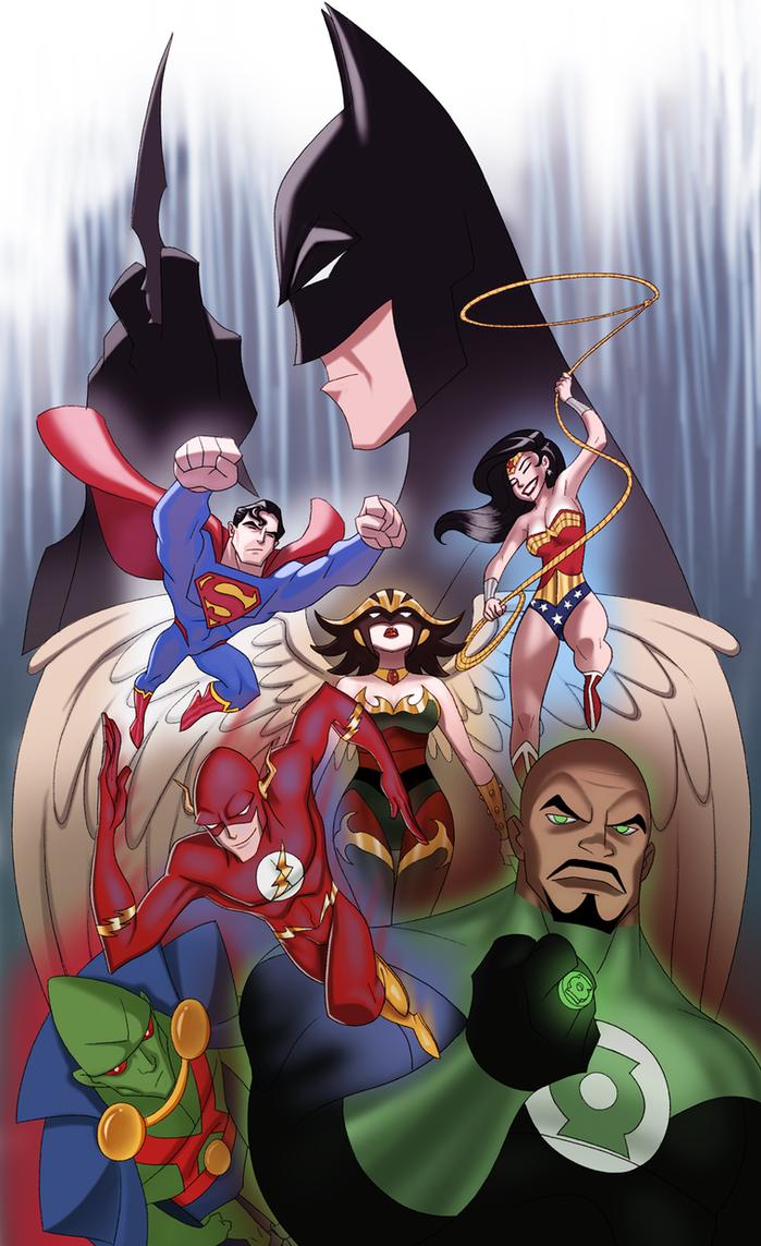 Justice League by UsmanHayat