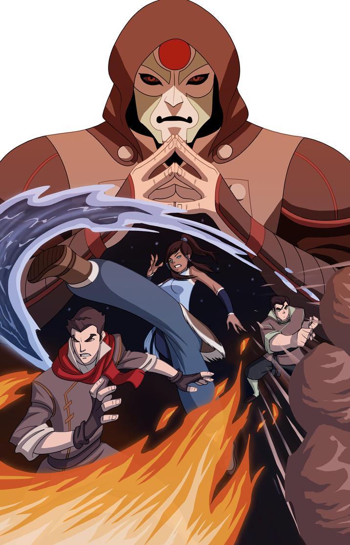 Amon Vs. The Avatar by UsmanHayat