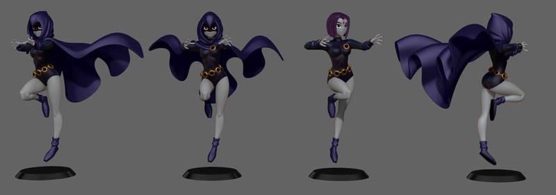 Raven Sculpt