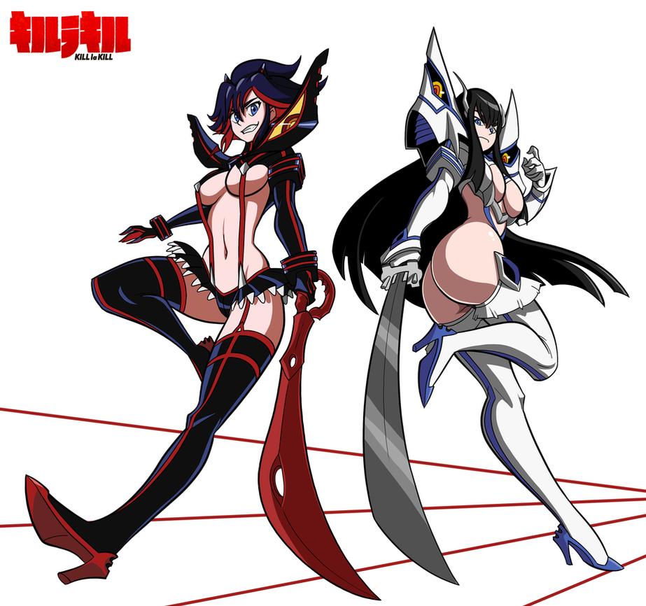 Porno kill la kill anime gallery