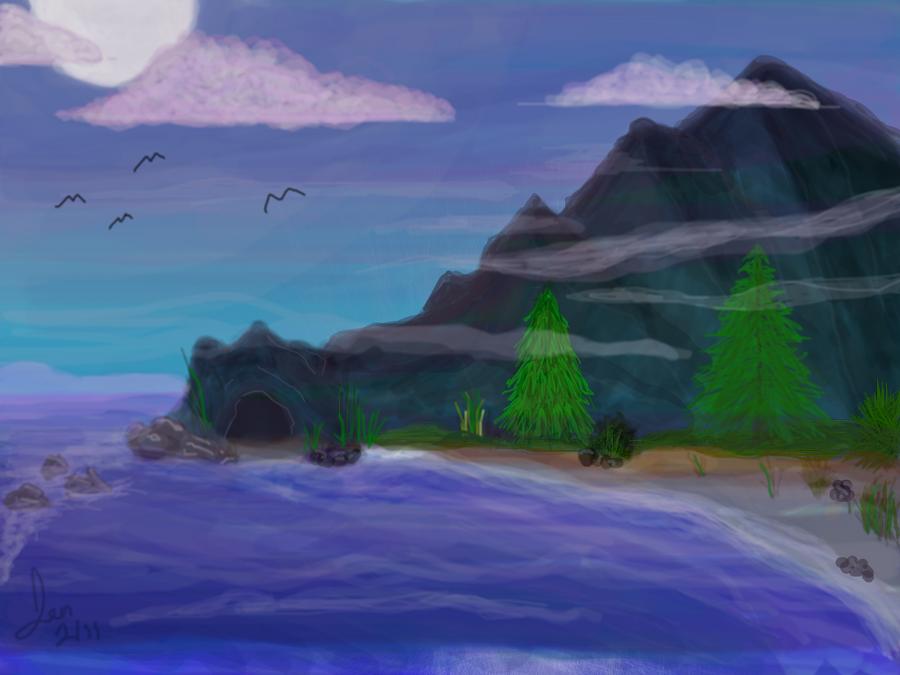 Misty Twilight by jaladams